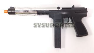 NEW Airsoft Spring Pump Action Chrome Shotgun UZI Rifle Pistol Hand
