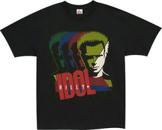 nwot billy idol in the shadow t shirt size large