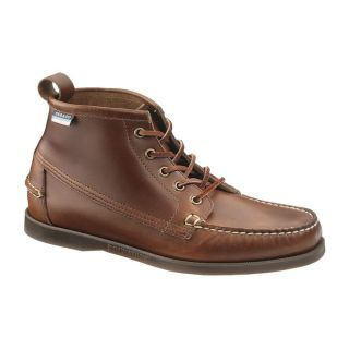 Sebago Mens BEACON BOOT Brown Oiled Waxy Leather Ankle Boots B72542