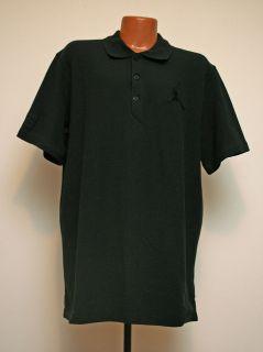 Air Jordan Nike Jumpman Polo Shirt Black Mens Sizing #458779 010