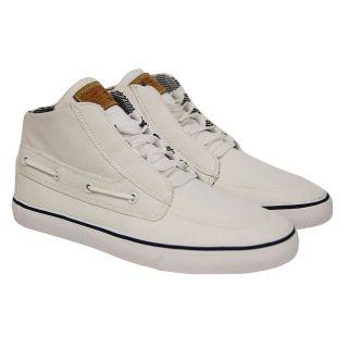Radii Mens Gilligan Mid Vlc FM1049 White High Top Fashion Sneakers