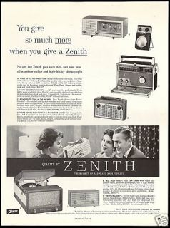 zenith radio record player in Collectibles