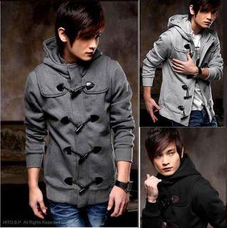 Fashion Korean Style Mens Slim Sexy Top Designed Hoody Jacket