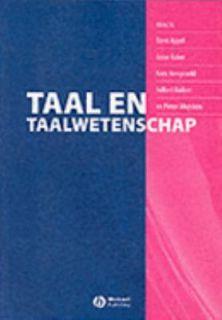 Taal en Taalwetenschap by Muysken, Rene Appel, Anne Baker and Kees