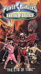 Power Rangers Time Force The End of Time VHS, 2002