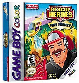 Fisher Price Rescue Heroes Fire Frenzy Nintendo Game Boy Color, 2001