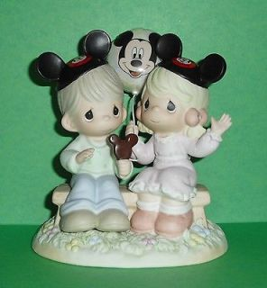 Precious Moment Disney Theme Park Happiness Best Shared Together