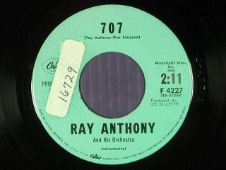 ray anthony dj 45 707 fly now pay later capitol