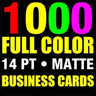 BUSINESS CARDS ✔ FREE DESIGN ✔ 14PT ✔ MATTE ✔REAL PRINTING