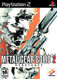 Metal Gear Solid 2 Substance Sony PlayStation 2, 2003