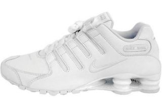 NEW! Nike Shox NZ WHITE Running Shoes Sneakers Mens Style#378341 128