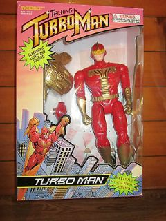 Newly listed TURBOMAN ROBOT DOLL FIGURE JINGLE ALL THE WAY TURBO MAN