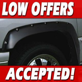 Ruff RiderZ Fender Flares Rivet Style Bolt Pocket CHEVY/GMC 99 06