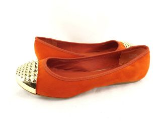 Womens Shoes BAMBOO MIRINA 02 TWO TONE SPIKE TOE CAP BOW BALLET FLATS