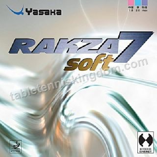 yasaka rakza 7 soft table tennis rubber more options colour