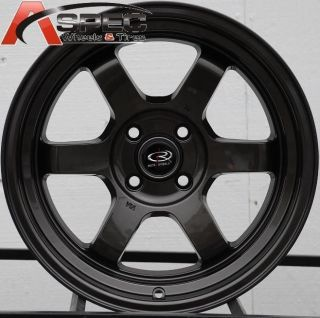 16X8 ROTA GRID V 4X100 +20 GUN METAL WHEEL FITS CIVIC MR2 XB