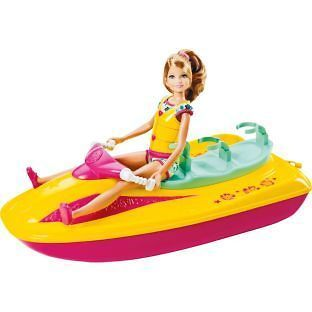 Barbie Stacie Jet Ski Jetski Playset play set toy figure for ages 3