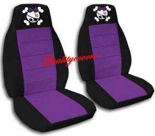 nice set girly skull car seat covers 8 colors choose  64 99