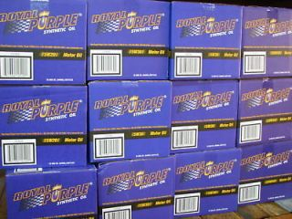 royal purple 10w30 synthetic motor oil 12 qt case ships in 1 bus day