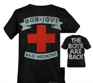 Bon Jovi Medicine hard rock glam pop metal T Shirt L XL 2XL NWT