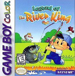 Legend of the River King GBC Nintendo Game Boy Color, 1999