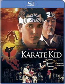 BLU RAY The Karate Kid * Ralph Macchio * Elizabeth Shue *