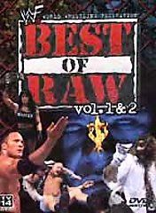 WWF   Best of Raw Vols. 1 & 2 (DVD, 2001