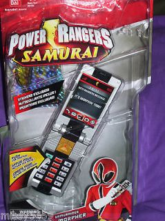 power rangers samurai morpher in TV, Movie & Video Games