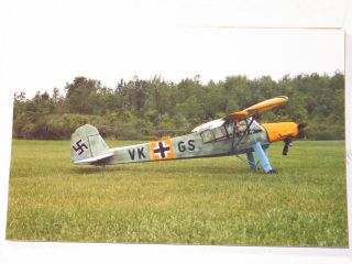 Storch Fi 156 1/5 Scale Model Airplane Kit WWII RC Radio Control NICE