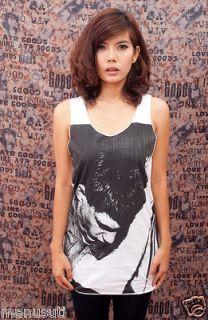 Ian Curtis ROCK POP ART Indie WOMEN T SHIRT TANK TOP Dress Size S M