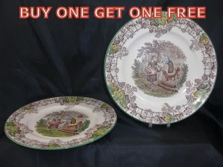 Vintage Copeland Spode Spodes Byron 8 Tea Plate 1935 BUY ONE GET ONE