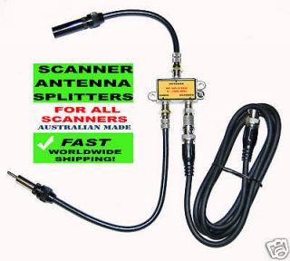 newly listed antenna splitter for scanner car radio from australia