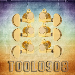 GOLD Guitar Tuning Pegs Tuners Machine Heads Guitar Pegs 3L 3R I