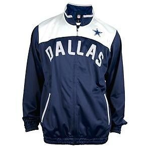 Cowboys Official NFL MVP Track Jacket by G III M L XL XXL NWT Romo