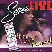 Live The Last Concert Remaster ECD by Selena CD, Sep 2002, EMI Music