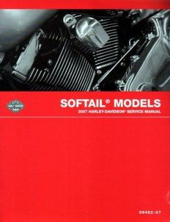 2007 HARLEY DAVIDSON SOFTAIL Service REPAIR SHOP Manual 652Pg FACTORY