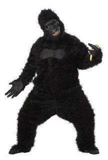 scary goin ape fur suit adult halloween costume 01172
