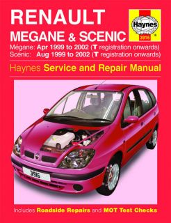workshop repair manual renault megane scenic from united kingdom