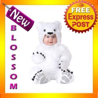 Baby Toddler Animal Planet Polar Bear Fancy Dress Halloween Costume