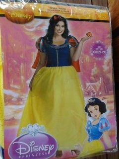 Plus Size Disney Princess Snow White Halloween Costume XXL 22 24