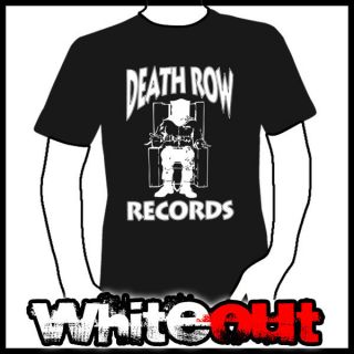 DEATH ROW RECORDS DR DRE TUPAC SHAKUR SNOOP DOGG GANGSTA RAP BLACK T