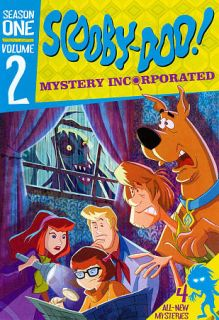Scooby Doo Mystery Incorporated Season One, Vol. 2 DVD, 2011