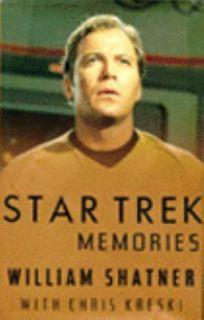 Star Trek Memories by William Shatner 1993, Hardcover