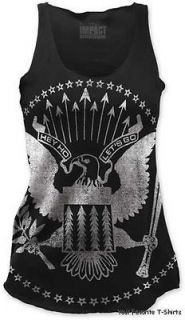 Ramones Presidential Seal Officially Licensed Junior Tank Top Shirt S