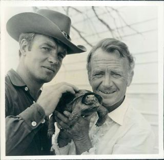 1968 Actor John Mills & Sean Garrison TV Series Dundee & The Culhane