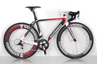 STRADALLI TREBISACCE RED PRO SRAM RED BLACK SL CARBON ROAD BIKE