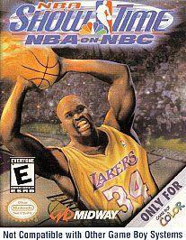 NBA Showtime NBA on NBC Nintendo Game Boy Color, 2000