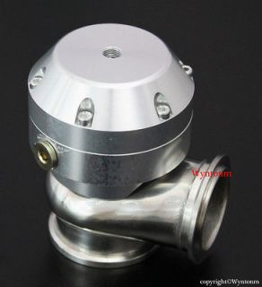 44MM Turbo MINI Stainless Steel Wastegate Waste gate 4 PSI SILVER