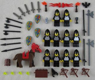 10 LEGO CASTLE KNIGHT MINIFIG LOT minifigures people vintage figure
