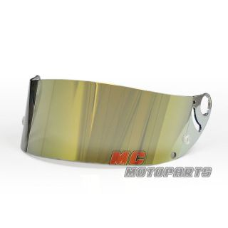 Gold Visor Shield Helmet For Shark RSR 2 RSR2 RS2 RSX VZ32 carbon rs